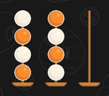 ボールソートはとてもシンプル